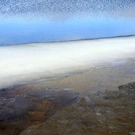 ijs in duinpoel